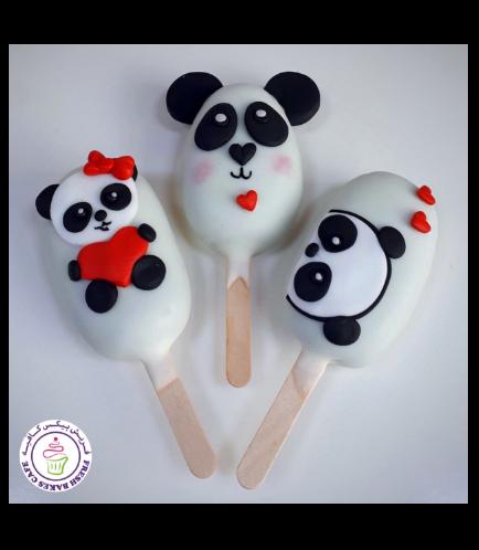 Popsicakes - Pandas