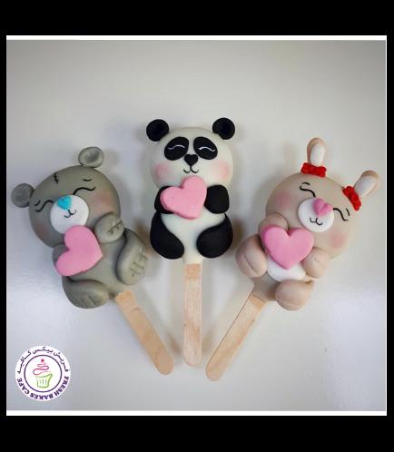 Popsicakes - Bear, Panda, & Rabbit