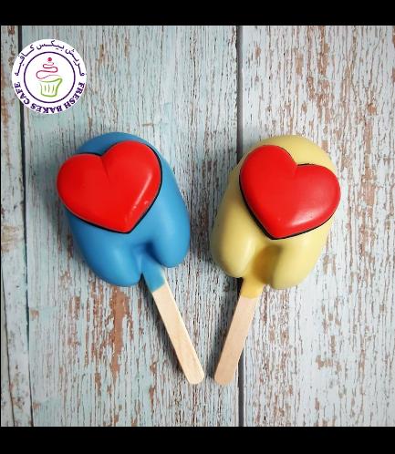 Valentine's Themed Popsicakes - Among Us 03