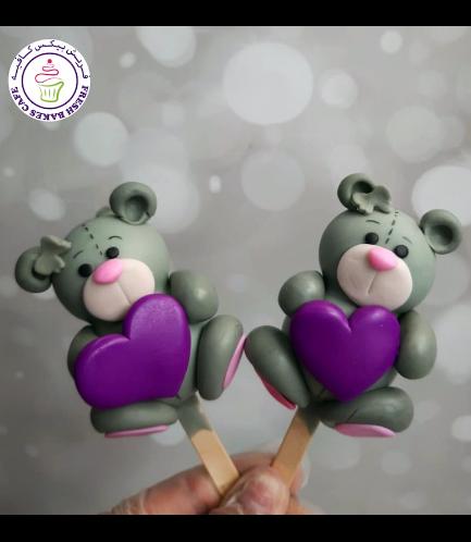 Popsicakes - Bears - Grey