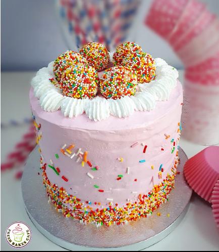 Funfetti Cake 01 - Pink