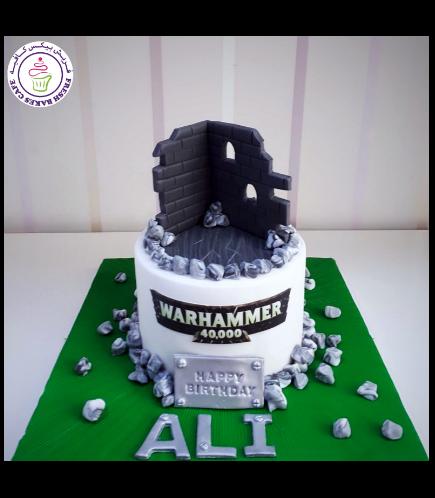 Warhammer Themed Cake