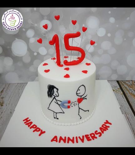 Cake - Man & Woman - Drawing 01b