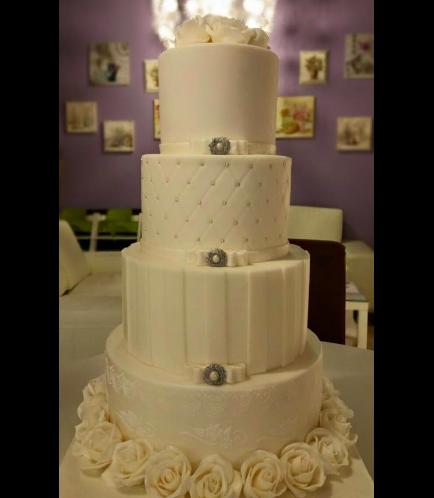 Wedding Cake - Roses 01