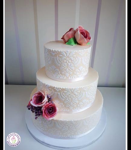 Wedding Cake - Roses 02b