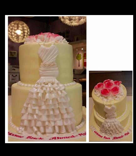 Bridal Shower Themed Cake 12b