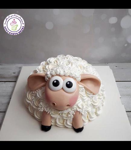 Cake - Sheep - Piñata Cake 01