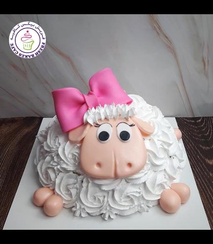 Cake - Sheep - Piñata Cake 02