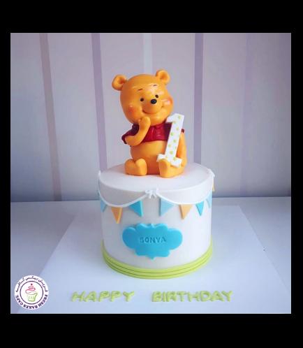 Winnie the Pooh Themed Cake 02