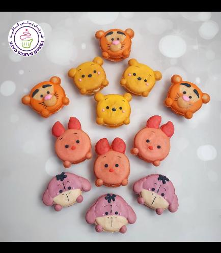 Winnie the Pooh Themed Macarons