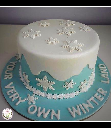Winter Themed Cake