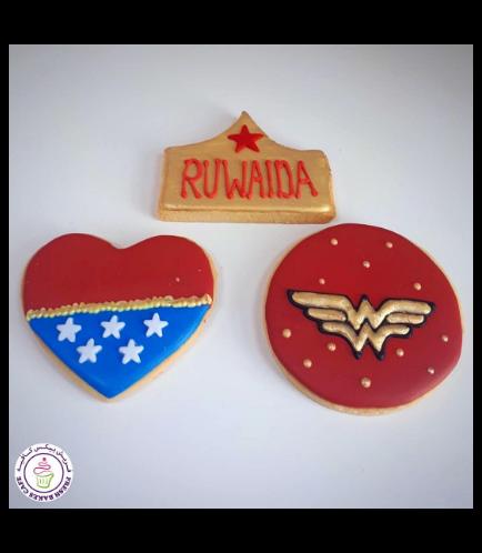Wonder Woman Themed Cookies 01