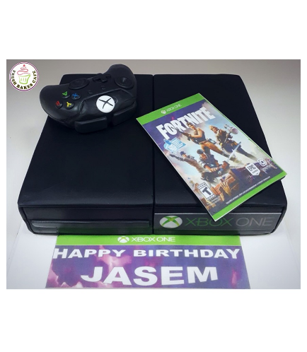 Xbox Themed Cake - 3D Console Cake 02
