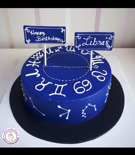 Libra Themed Cake