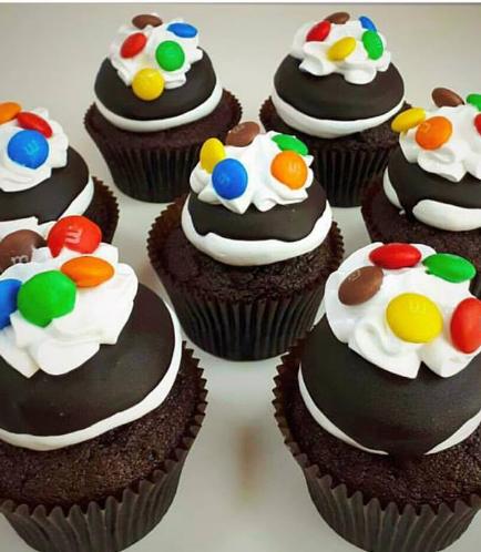 Marshmallow Birthday Cupcake