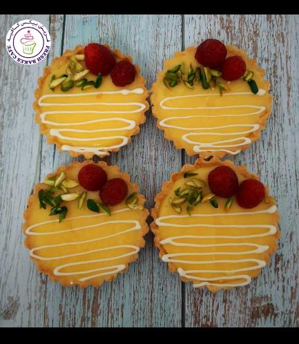 Tarts - Lemon Raspberries