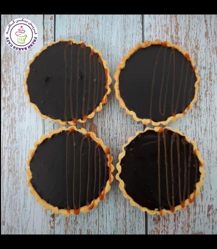 Tarts - Salted Caramel Chocolate Ganache