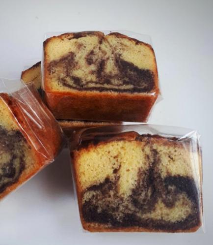 Loaf Cake-Marble (Slice)