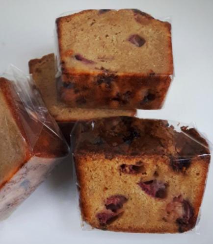 Loaf Cake-Strawberry (Slice)