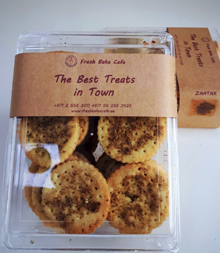Zaatar Crackers Box