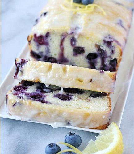 Lemon Blueberry (Slice)