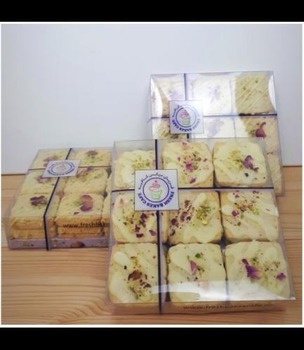 Rose Water Pistachio Cookies Box