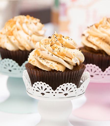 Lotus Biscoff Cupcake