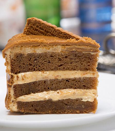Cake Slice-Lotus Biscoff
