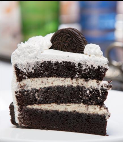 Cake Slice-Cookies & Cream