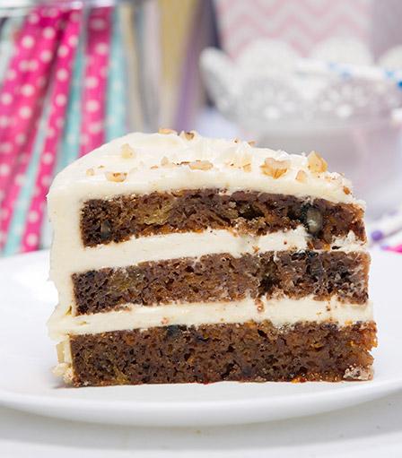 Cake Slice-Carrot