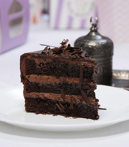 Cake Slice-Double Chocolate